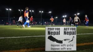 ネパール募金箱