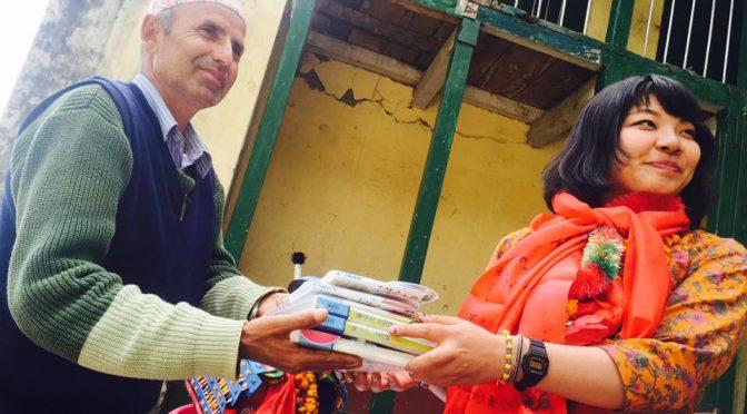 ネパールで心を育てる活動をしたい
